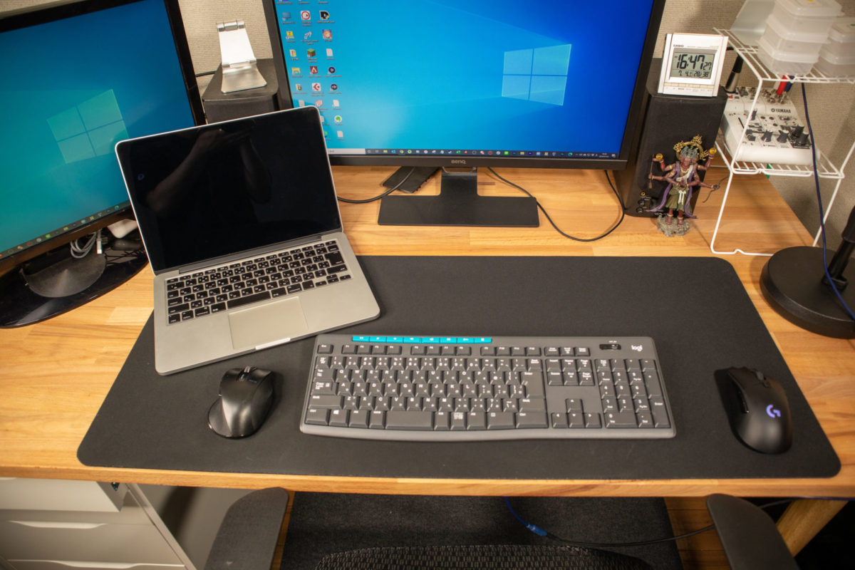 大型マウスパッド SteelSeries QcK HEAVY XXL マウスパッド 67500