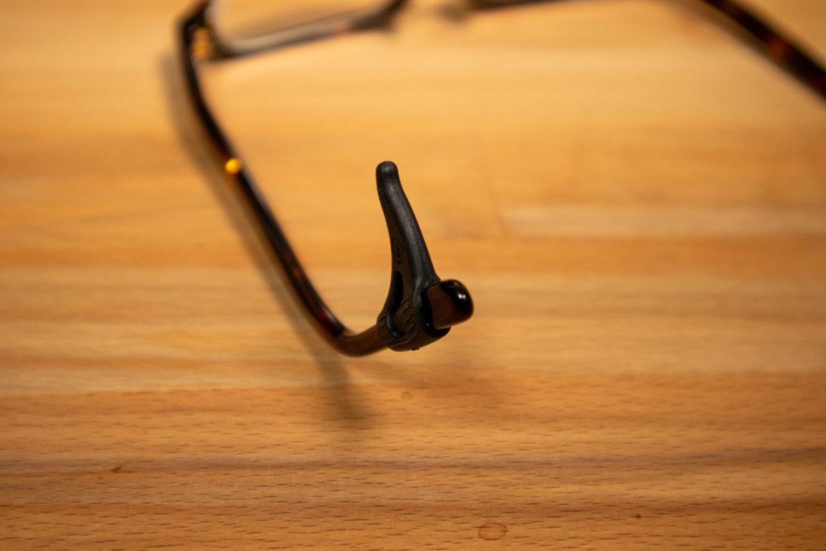 メガロック 眼鏡に装着してみる
