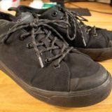 梅雨に毎日履きたい!コロンビアの防水黒スニーカーを実際に履いてる僕がレビュー【ホーソンレイン2ロウ アドバンス オムニテック】